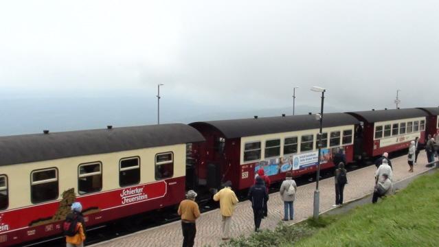 Harz. Kolejką na słynny szczyt Brocken