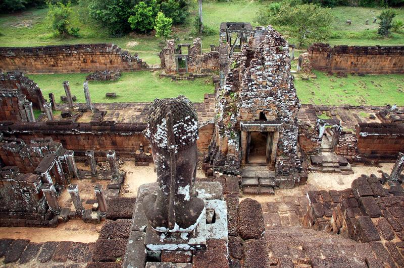 Angkor. Pre Rup: królewskie krematorium