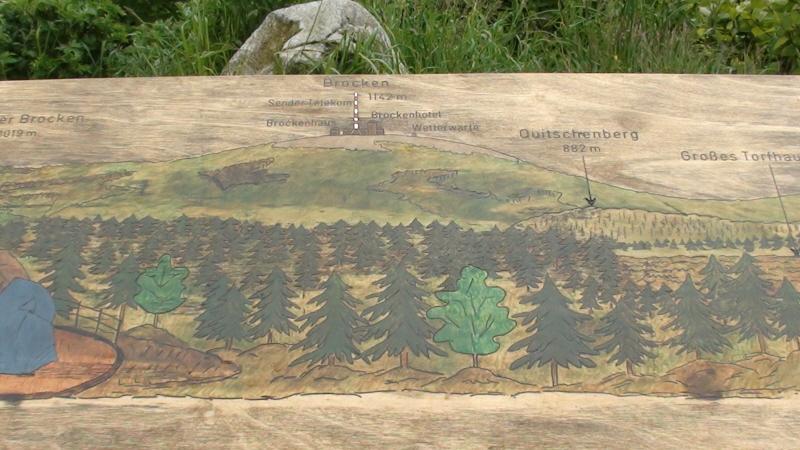 TorfHaus. Najlepszy widok na szczyt Brockenu