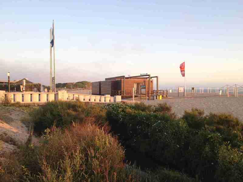 Porto. Pokazowa plaża w Vila Nova de Gaia