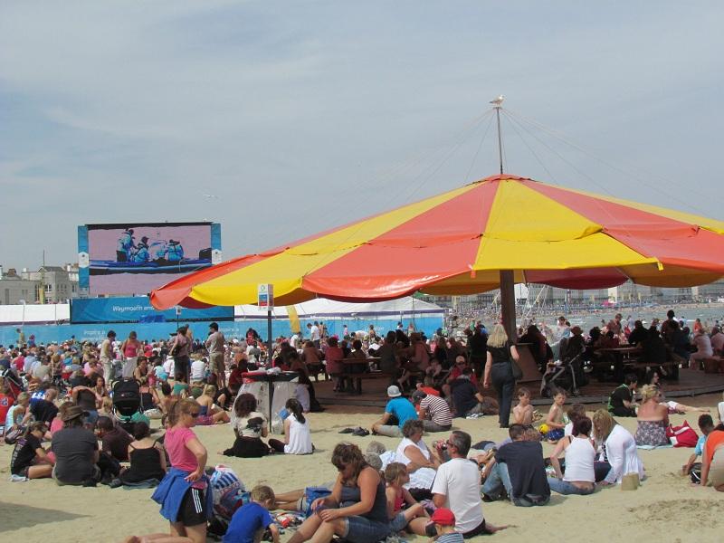Weymouth Brytyjska Riwiera w blasku Olimpiady