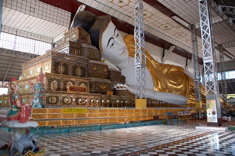 Bago. Największy posąg Buddy