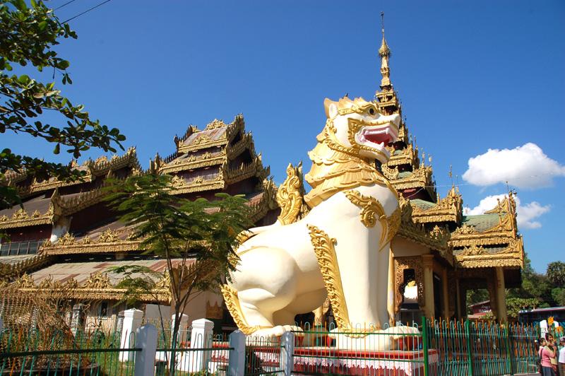 Bago Pałac królewski i Wężowy Klasztor
