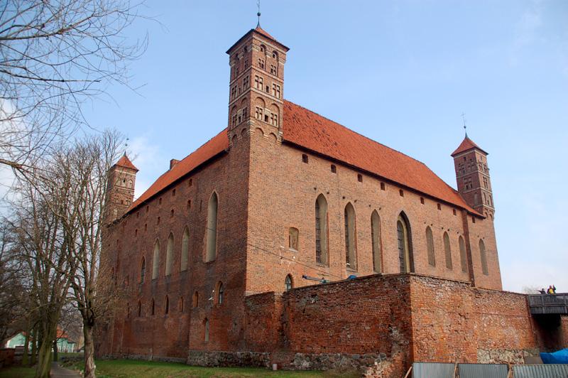Lidzbark Warmiński Zamek biskupi na pruskim grodzie
