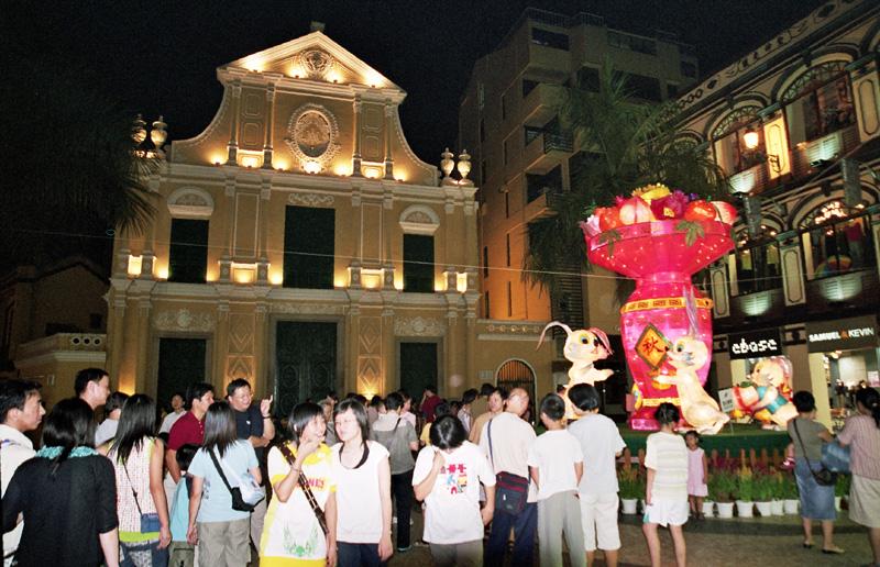 Makau. Portugalska starówka w chińskim mieście