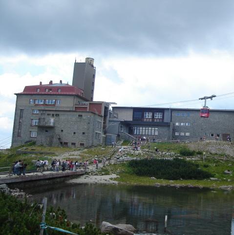 Łomnicki Staw. Wysycha jeziorko pod Łomnicą