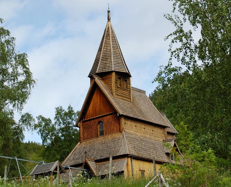 Ornes Wikingowie stawiali kościół na wzór łodzi