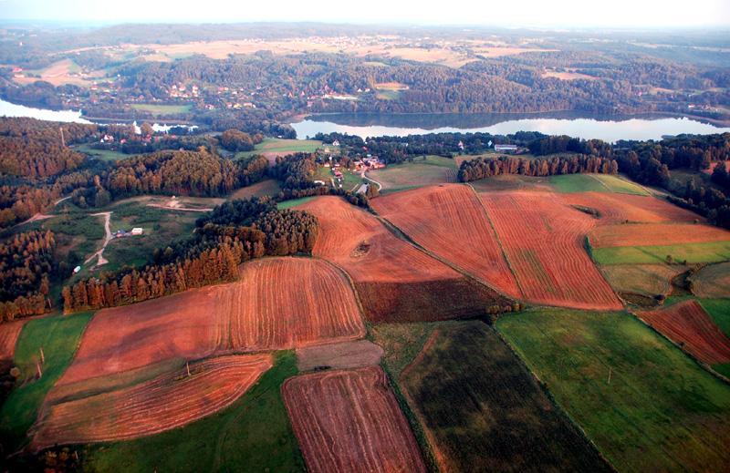 Szwajcaria Kaszubska. Balonem nad krainą lasów i jezior