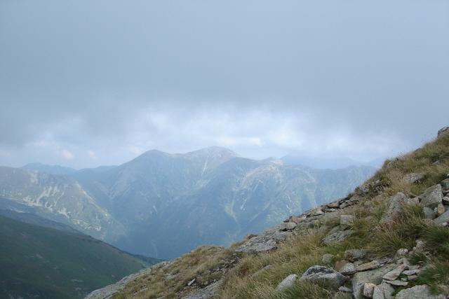 Baraniec. Na tatrzański szczyt w słońcu i we mgle