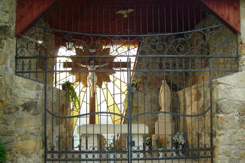 Dobczyce Kamiennymi schodami do św. Jana