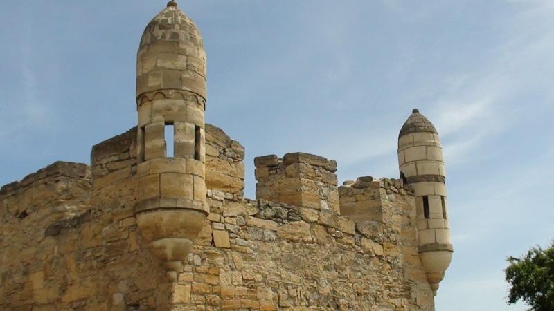Jenikale Ruiny tureckiej twierdzy