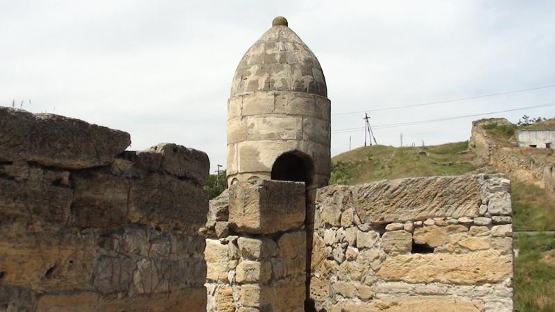 Jenikale. Ruiny tureckiej twierdzy