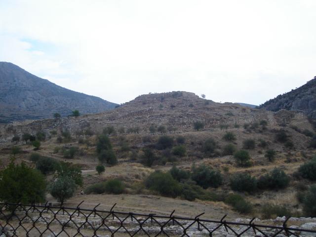 Mykeny Wokół Grobu Agamemnona Otwarty Przewodnik Krajoznawczy
