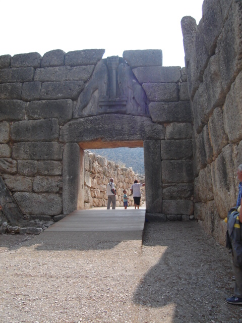 Mykeny. Wokół grobu Agamemnona
