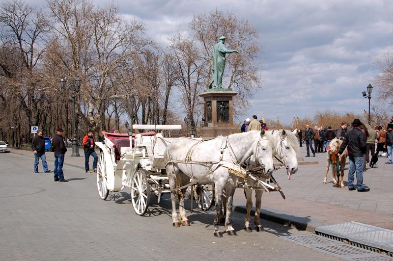 Odessa. Schody Potiomkinowskie, pomniki, muzea