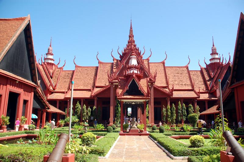 Phnom Penh Skarby sztuki khmerskiej