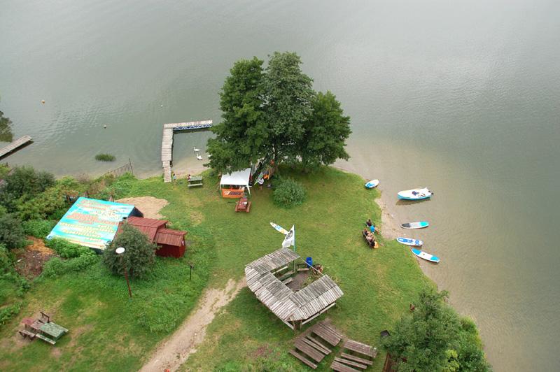 Wdzydze Kiszewskie Tu jeziora tworzą wielki krzyż