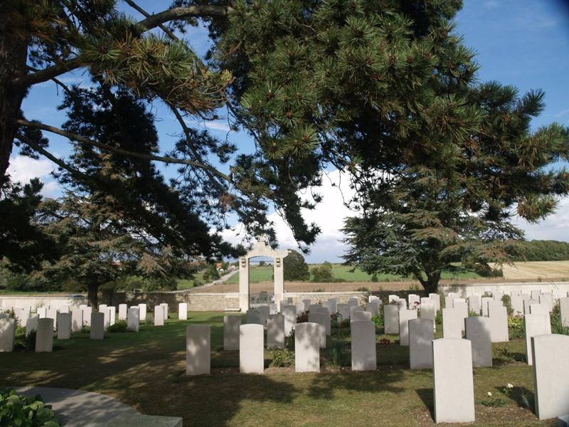 Nolette Cmentarz wojenny chińskich robotników
