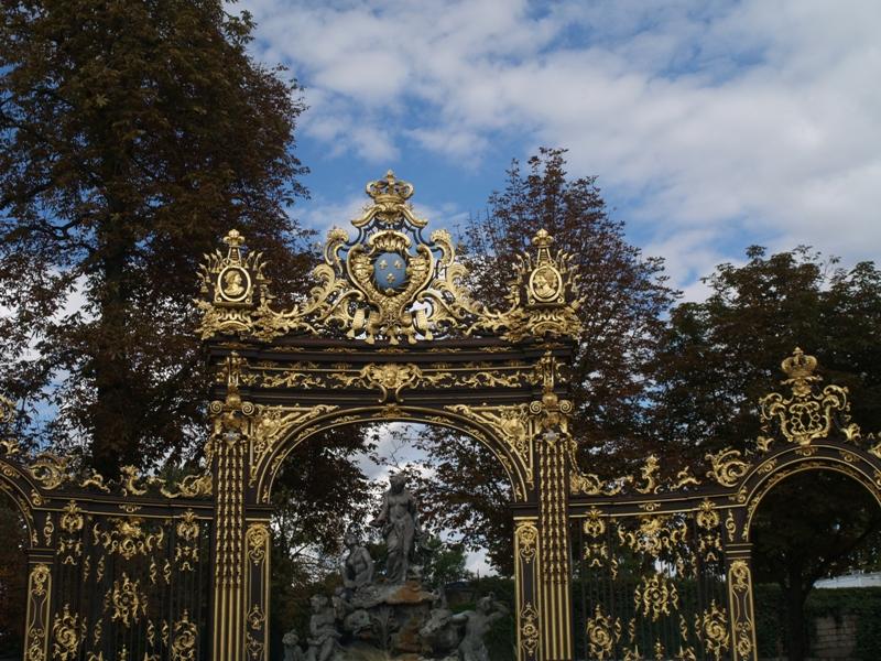 Nancy. Złote bramy wokół Placu Stanisława