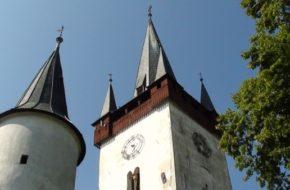 Spiski Czwartek Gotycka kaplica w targowej osadzie