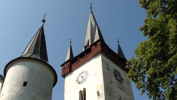 Spiski Czwartek. Gotycka kaplica w targowej osadzie