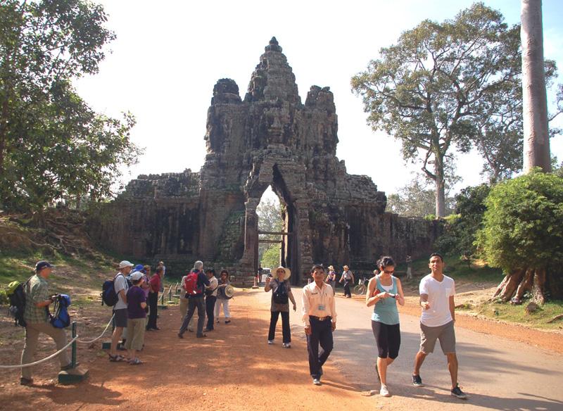 Angkor Thom. Wielkie Miasto Khmerów