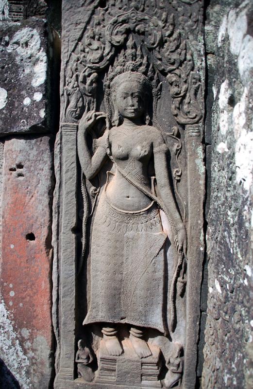 Angkor Thom. Bayon: państwowa świątynia Khmerów