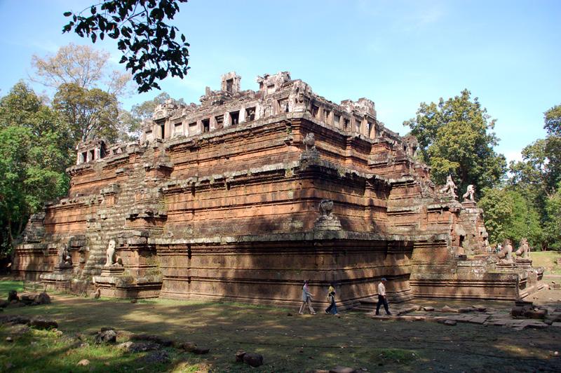 Angkor Thom Pałac Bogów, czyli Niebo