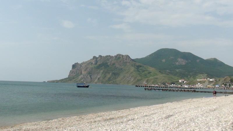 Koktebel Kara-Dag od strony morza