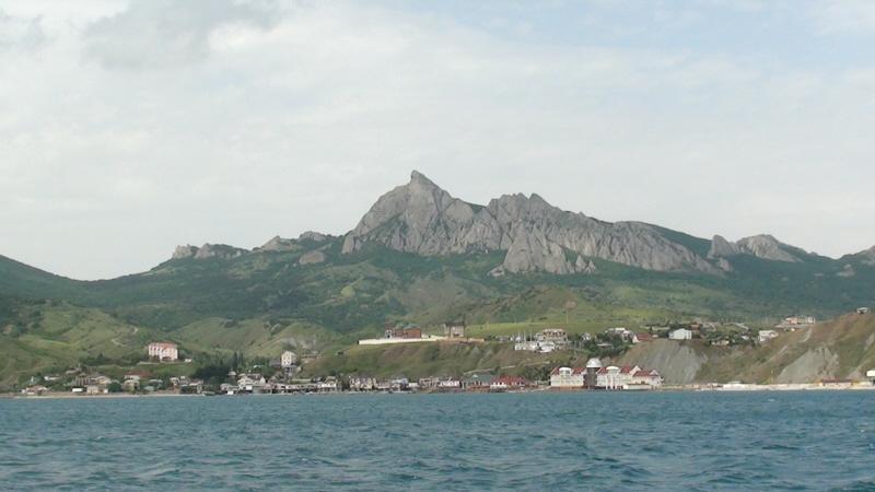 Koktebel. Kara-Dag od strony morza