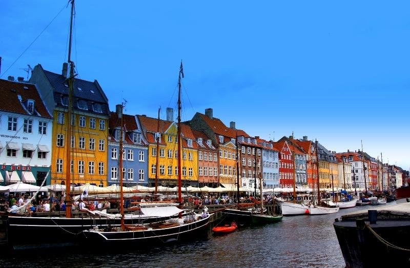 Kopenhaga. Krótki spacer po malowniczym mieście