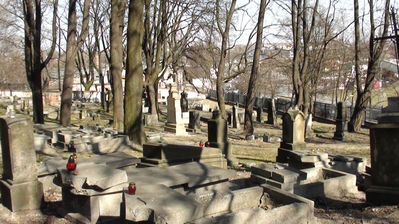 Kraków. Stary Cmentarz Podgórski
