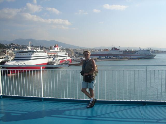 Patras. Przez morze do Ankony