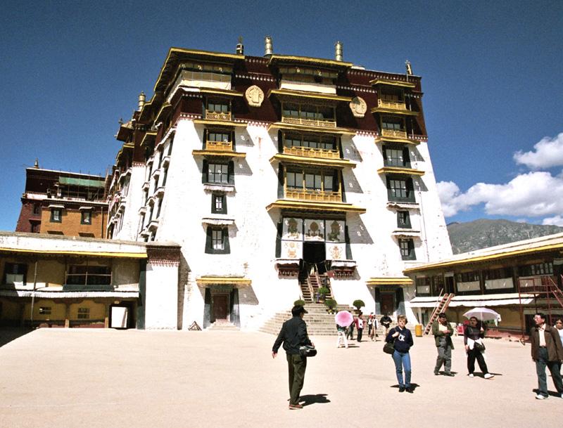 Lhasa. Pałac Potala – rezydencja dalajlamów
