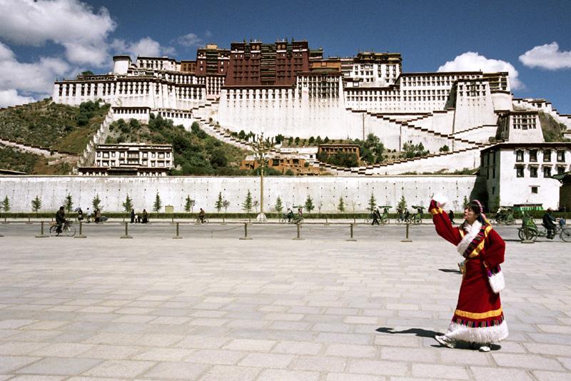 Lhasa Pałac Potala – rezydencja dalajlamów