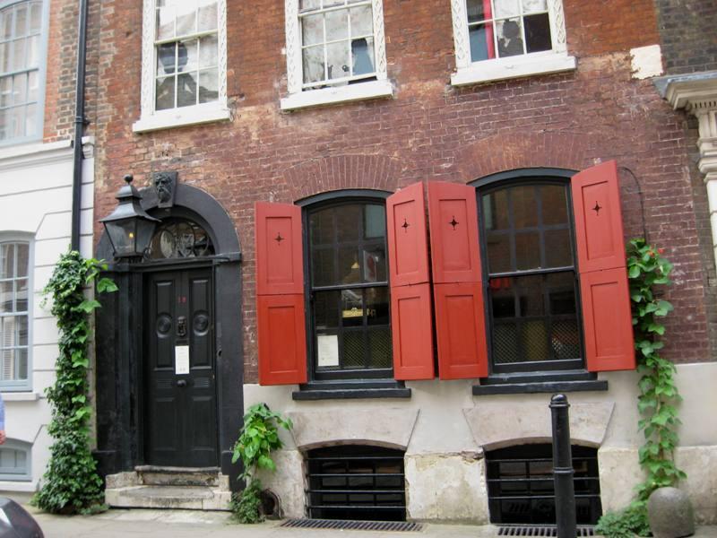 Londyn Kapsuła czasu, czyli dom pana Seversa