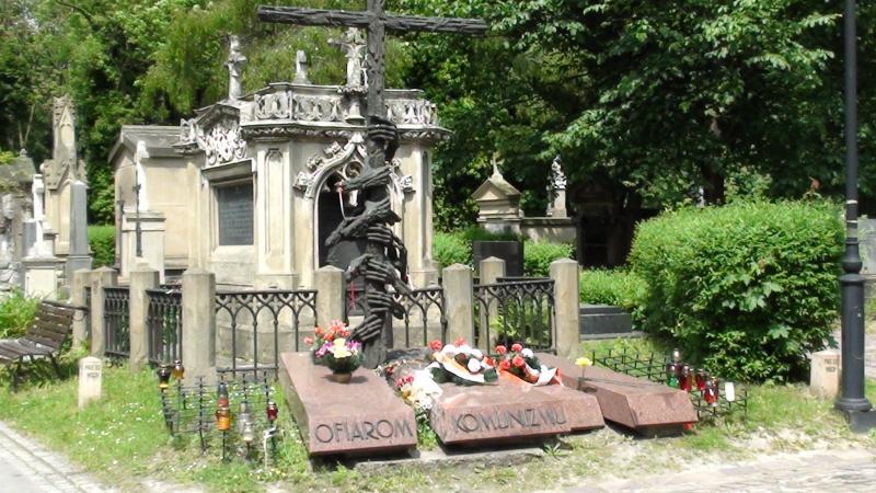 Kraków. Pomniki na Cmentarzu Rakowickim