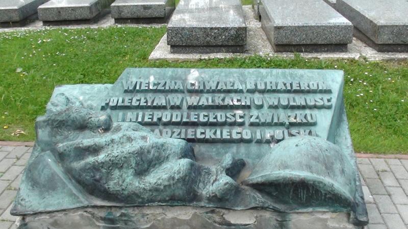 Kraków. Cmentarz Wojskowy na Rakowicach