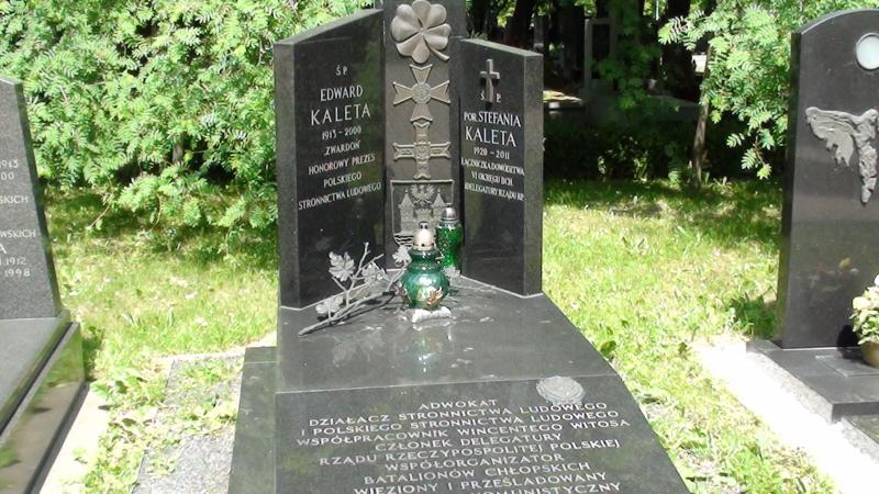 Kraków. Współcześni na Cmentarzu Rakowickim