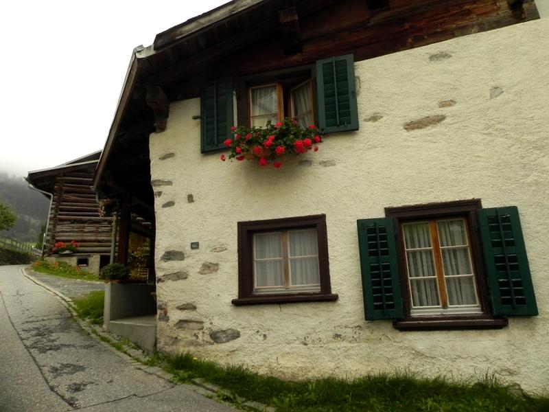 Flims Alpejscy mleczarze i alpejscy turyści