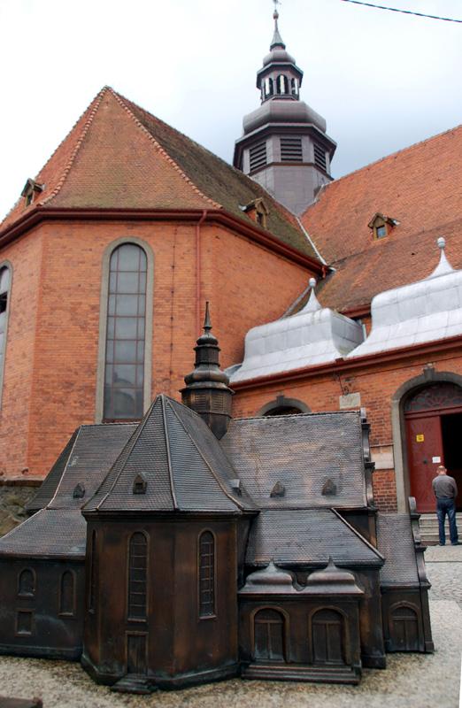Kościerzyna. Stare pamiątki w młodym mieście