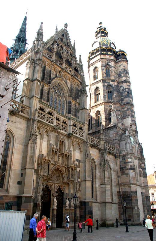 Koszyce. Katedra na wschodnich rubieżach