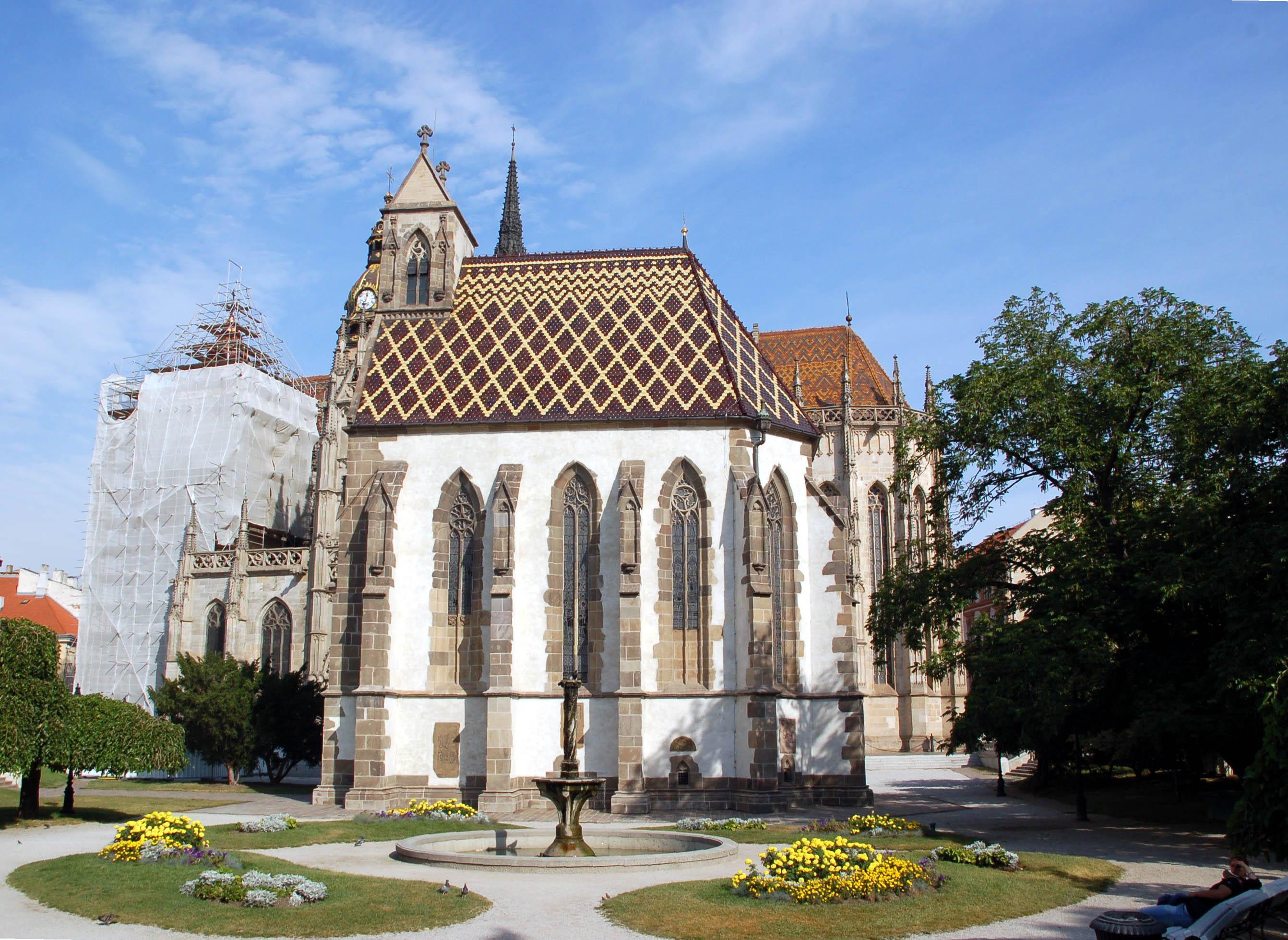 Koszyce Katedra na wschodnich rubieżach