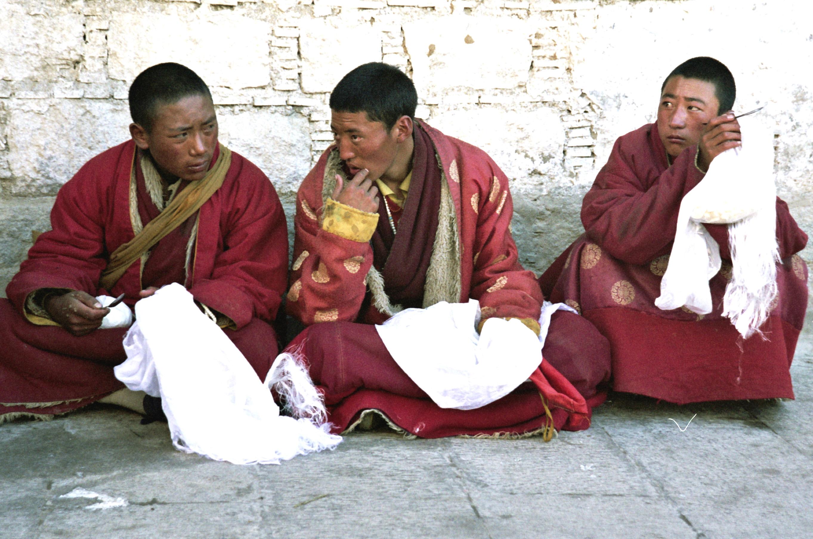 Lhasa Sankturia tybetańskiej stolicy