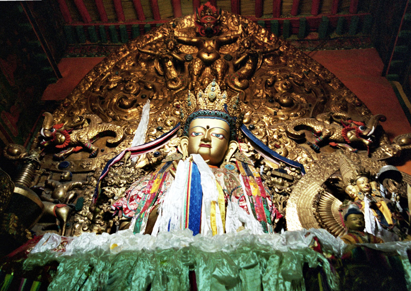 Lhasa. Drepung, klasztor wielki i potężny