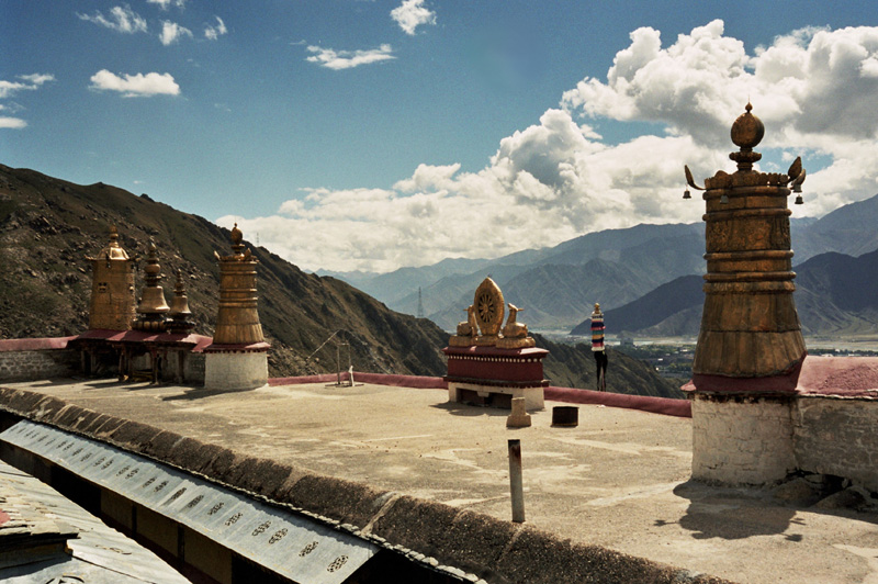 Lhasa Drepung, klasztor wielki i potężny