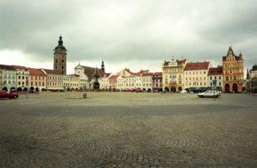 Czeskie Budziejowice Królewskie miasto na południu Czech