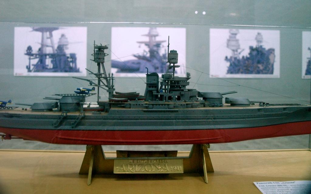 Szczecin Pancernik USS Arizona w 3D
