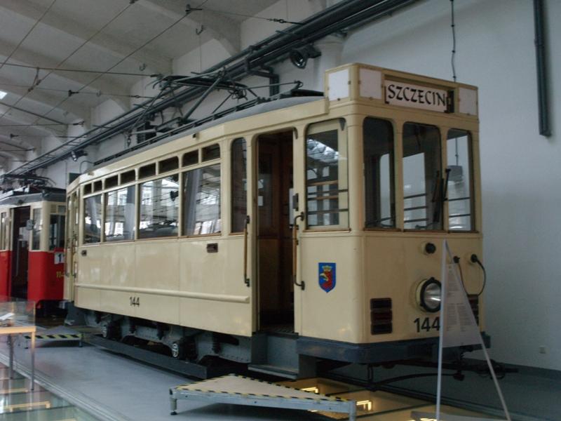 Szczecin. Muzeum Techniki, czyli Zajezdnia Sztuki