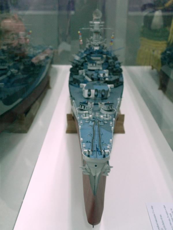 Szczecin. Pancernik USS Arizona w 3D